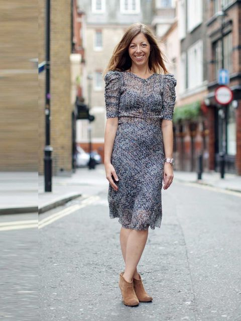 "<p><strong>Kirsty Dale - Executive Fashion Director</strong></p><p>Wearing Isabel Marant for H&amp&#x3B;M dress £69.99 and Report boots.</p><p><a href=""http://www.elleuk.com/fashion/what-to-wear/isabel-marant-for-hm-lookbook-autumn-winter-2013""></a></p><p><a h"