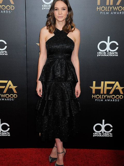 <p>Carey Mulligan wears Erdem to the 19th Annual Hollywood Film Awards in Beverly Hills, November 2015</p>