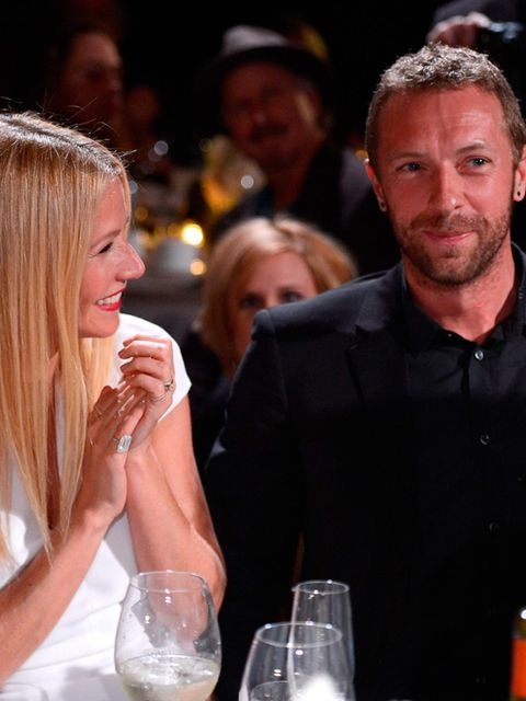 "<p><a href=""http://www.elleuk.com/fashion/celebrity-style/gwyneth-paltrow-style-file"">Gwyneth Paltrow</a> and Chris Martin</p>