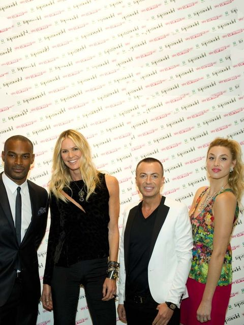 <p>The new panel of Britain and Ireland's Next Top Model are supermodel Elle Macpherson, designer Julian Macdonald, male supermodel Tyson Beckford and television star and US designer Whitney Port.</p>