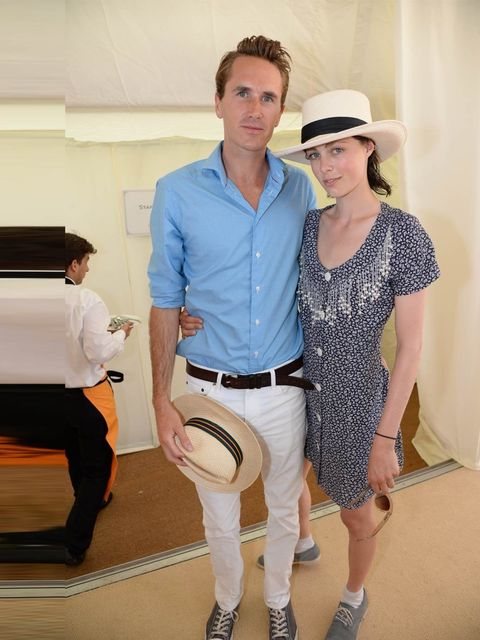 "<p>Beautiful young things - and keen horse riders - Otis Ferry and <a href=""http://www.elleuk.com/star-style/red-carpet/valentino-master-of-couture-exhibition-opening"">Edie Campbell</a>. </p><p><a href=""http://www.elleuk.com/star-style/celebrity-fashion-t"