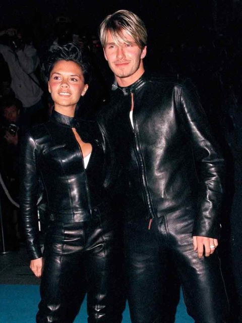 "<p>She used to dress like this - and she became a style icon anyway.</p><p><em>David and Victoria Beckham at the Versace Club Gaga Party in London, 1999.</em></p><p><a href=""http://www.elleuk.com/star-style/celebrity-style-files/victoria-beckham-style""></"