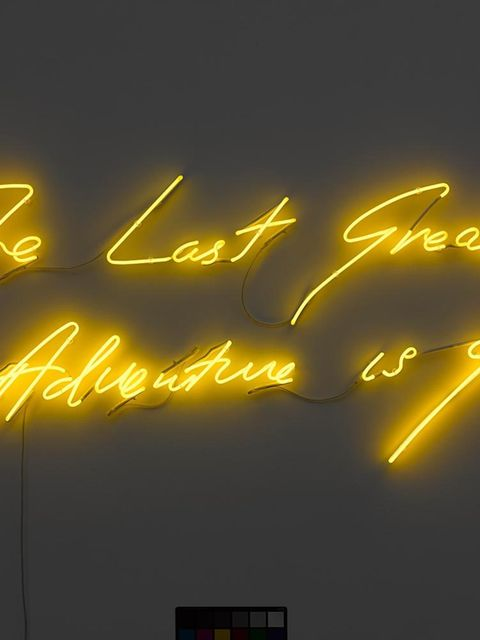 <p><strong>EXHIBITION: Tracey Emin: The Last Great Adventure Is You</strong></p>