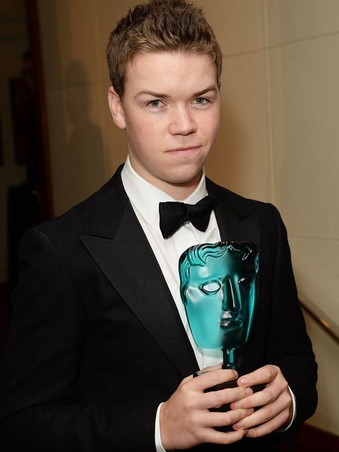<p>Can't help but love that face! (His actual face, not the BAFTA)</p>