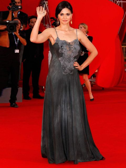 <p>Romina Mondello at the 'To The Wonder' premier, Venice Film Festival 2012.</p>