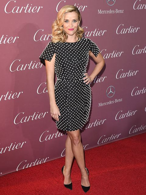 Reese Witherspoon wears Michael Kors to the Palm Springs International Film Festival Awards Gala in Palm Springs, January 2015.