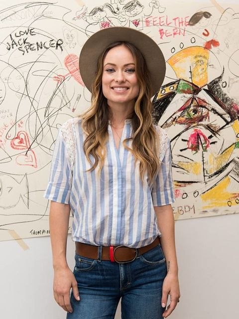 Olivia Wilde unveils a music video for Edward Sharpe and the Magnetic Zeros 2016.