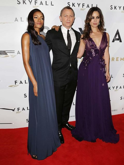 "<p>Naomie Harris, in <a href=""http://www.elleuk.com/catwalk/designer-a-z/maison-martin-margiela/spring-summer-2013"">Maison Martin Margiela</a>, Daniel Craig and Berenice Marlohe attend the Australian premiere of Skyfall in Sydney.</p>"