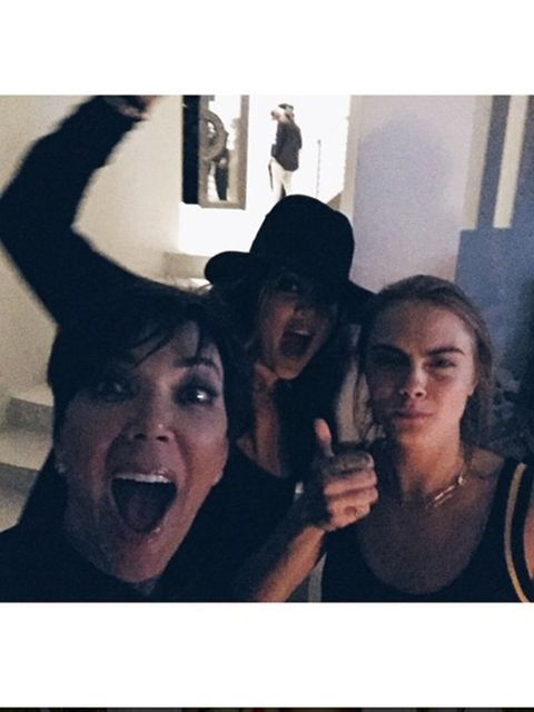 Kim Kardashian:   #FamilyAffair #KendallsBDayParty