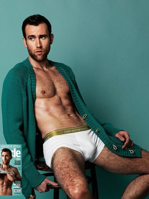 <p>Matthew Lewis as the June 2015 cover star of Attitude magazine.</p>