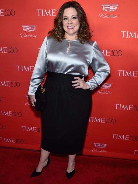 Melissa McCarthy attends the 2016 Time 100 Most Influential People In The World Gala in New York, April 2016.