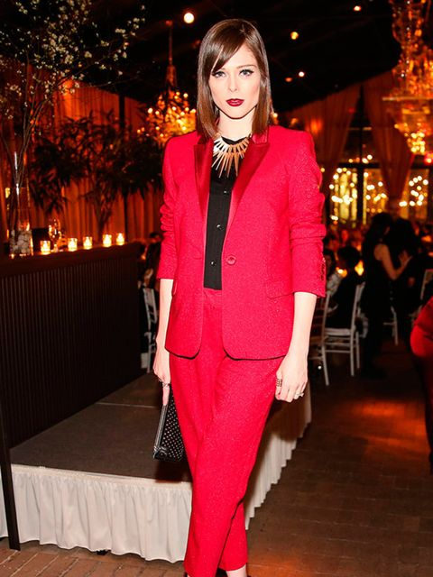 Coco Rocha at Escada Meets Thilo Westermann Collection in New York, February 2015.