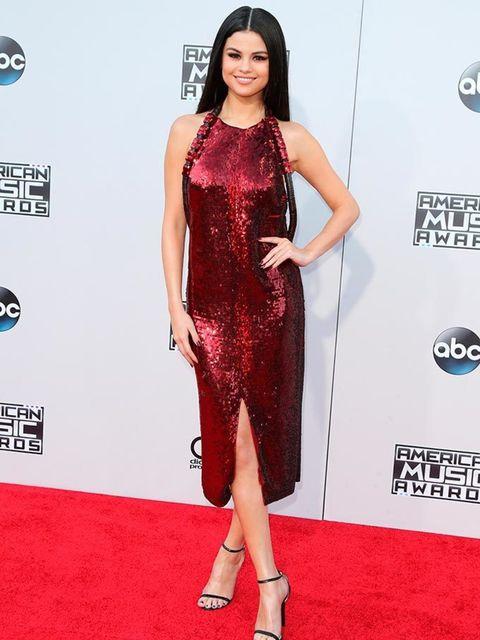<p>Selena Gomez wearing Givenchy by Riccardo Tisci at the American Music Awards in LA, November 2015</p>