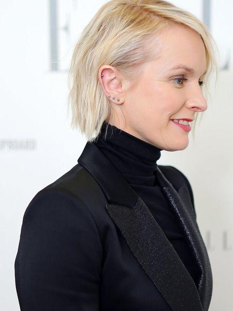 <p>Lorraine Candy, Editor-In-Chief</p><p>Bella Freud suit, Nicholas Kirkwood shoes, Chanel bag, Noor Fares earrings</p>