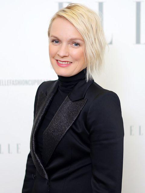 <p>Lorraine Candy, Editor-In-Chief</p>  <p>Bella Freud suit, Nicholas Kirkwood shoes, Chanel bag,Noor Fares earrings</p>