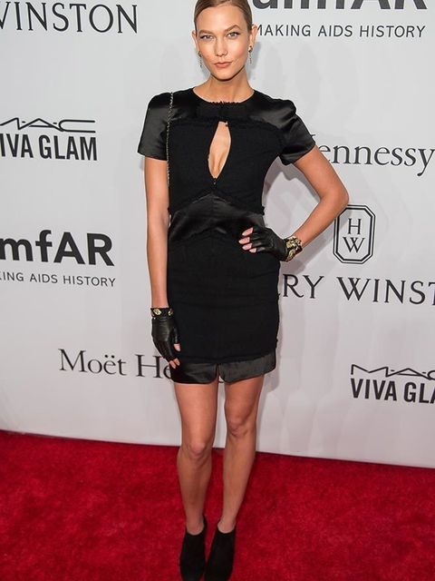 <p>Karlie Kloss wears Chanel at the amfAR Gala in New York, February 2016</p>