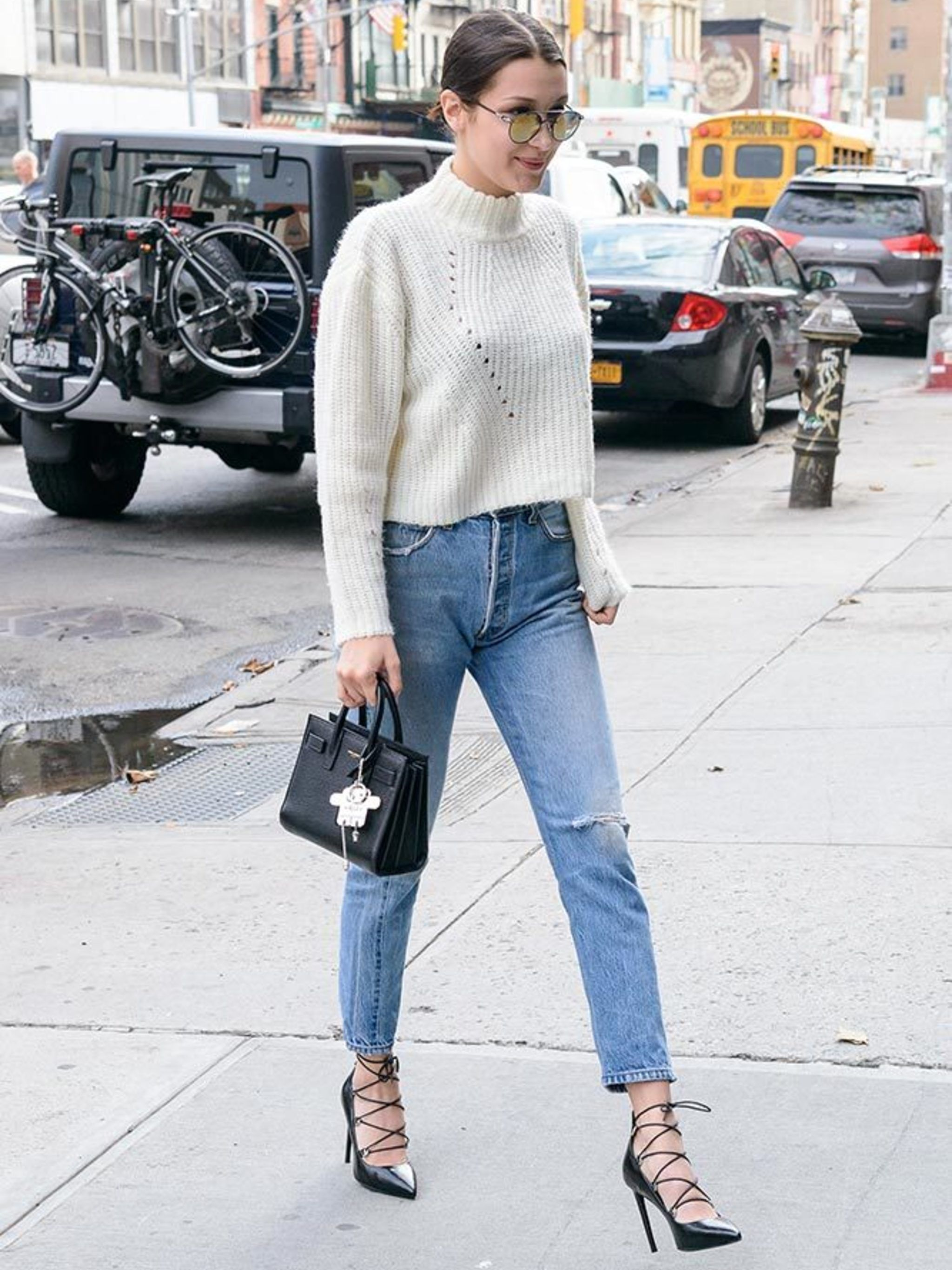 Watch All of Bella Hadids Best Outfits, in One Place video