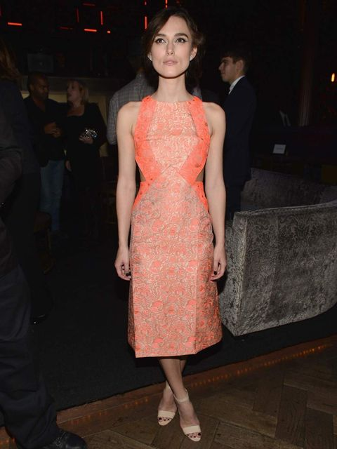 <p>Keira Knightley wears Richard Nicoll to the Anna Karenina after party</p>