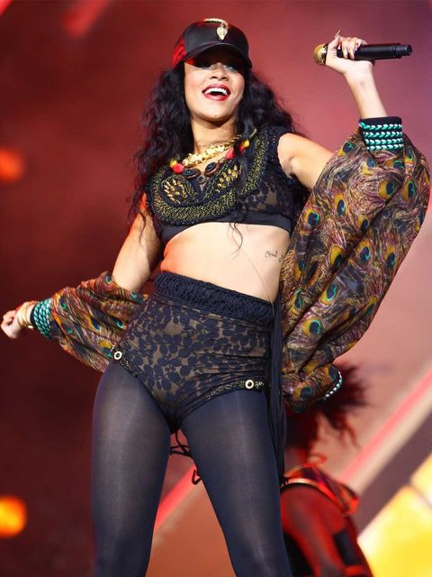 <p>Rihanna headlined the 2012 Wireless festival on Sunday in Hyde Park, London.</p>
