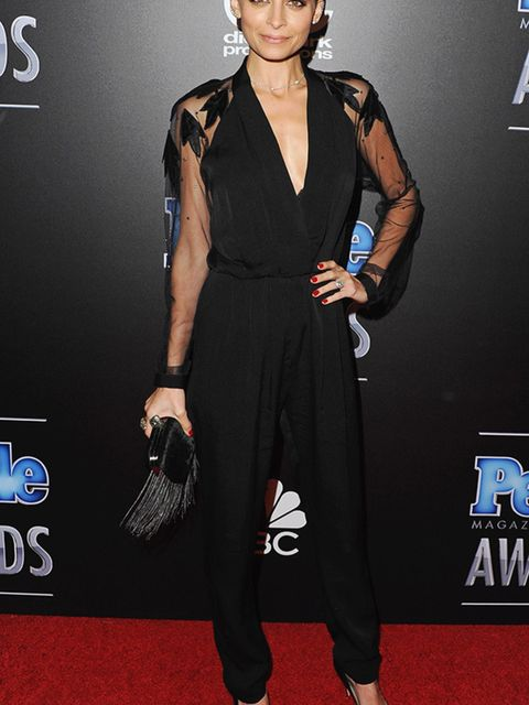 "<p><a href=""http://www.elleuk.com/tags/nicole-richie"">Nicole Richie</a> at the People Magazine Awards in California, December 2014.</p>"