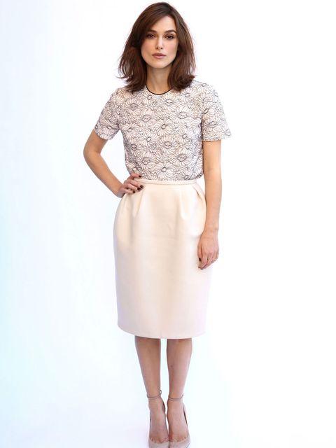 <p>Keira Knightley wears Mulberry in LA</p>