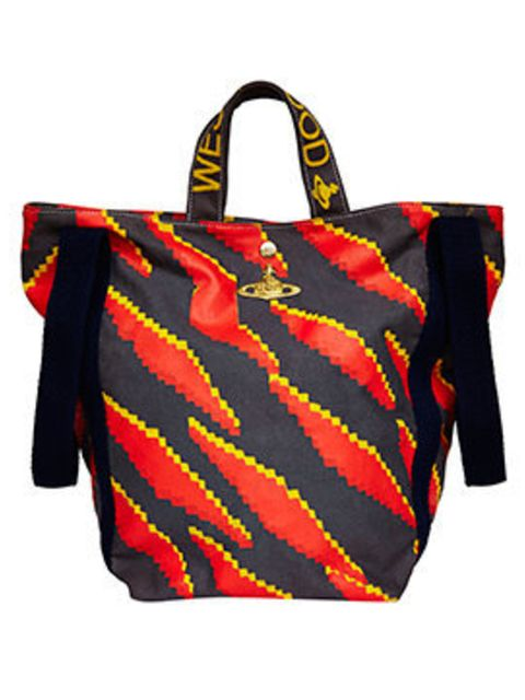 <p>Shopper Bag, £128 from the Vivienne Westwood Africa collection from ASOS</p>