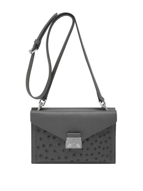 <p>Mulberry Kensal small shoulder bag in pavement grey, spring/summer 2014</p>