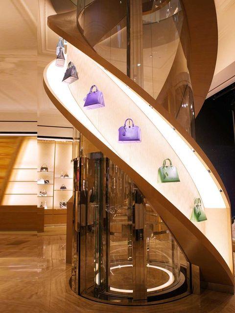 "<p>Louis Vuitton Townhouse at Selfridges, London, November 2013.</p><p><a href=""http://www.elleuk.com/catwalk/designer-a-z/louis-vuitton/spring-summer-2014""></a></p><p><a href=""http://www.elleuk.com/fashion/what-to-wear/elle-wears-louis-vuitton""></a></p><"
