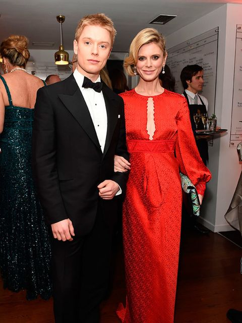 Emilia Fox and Freddie Fox at the BAFTA Fundraising Gala Dinner and Auction in London, February 2015.