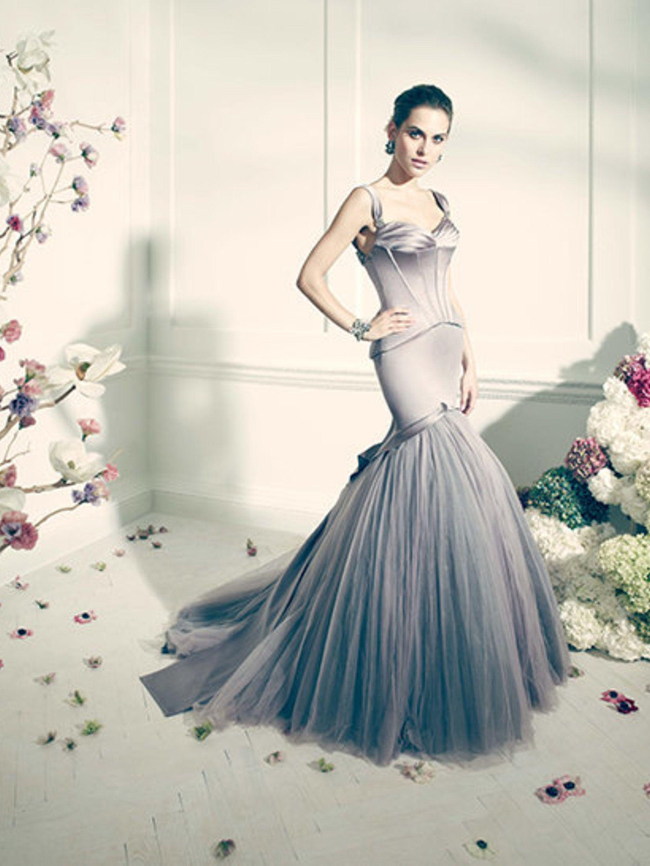 ea2eab87372 Truly Zac Posen Long Sleeve Short Wedding Dress