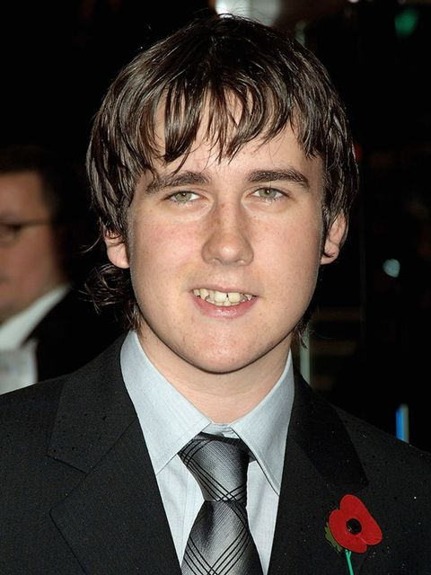 <p>Matthew Lewis, who plays Neville Longbottom in the Harry Potter series, at the world premiere of Harry Potter And The Goblet Of Fire in London, November 2005. </p>