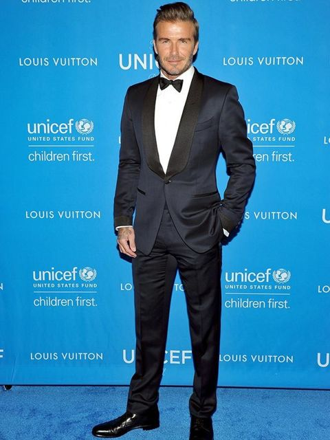 David Beckham at the UNICEF Ball Honouring himself and C.L. Max Niklas in Beverly Hills, January 2016