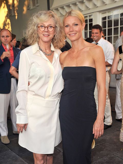 <p>Blythe Danner and Gwyneth Paltrow. </p>