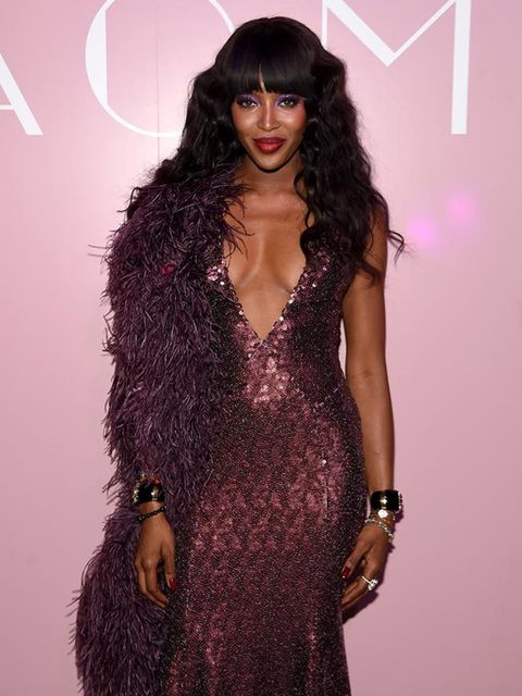 Naomi Campbell at the launch of Naomi hosted by Marc Jacobs and Benedikt Taschen at the Diamond Horseshoe in New York, April 2016.