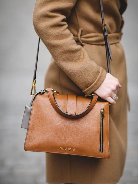 <p>Lorraine Candy, Editor-in-Chief</p>  <p>Joseph coat and trousers, Zara polo neck, Apple watch, Miu Miu bag, Adidas trainers</p>  <p> </p>