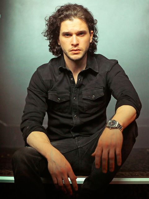 English-actor-Kit-Harington-poses-during-a-photoshoot-to-promote-his-new-movie-'Pompeii'-and-television-series-Game-of-Thrones-REX