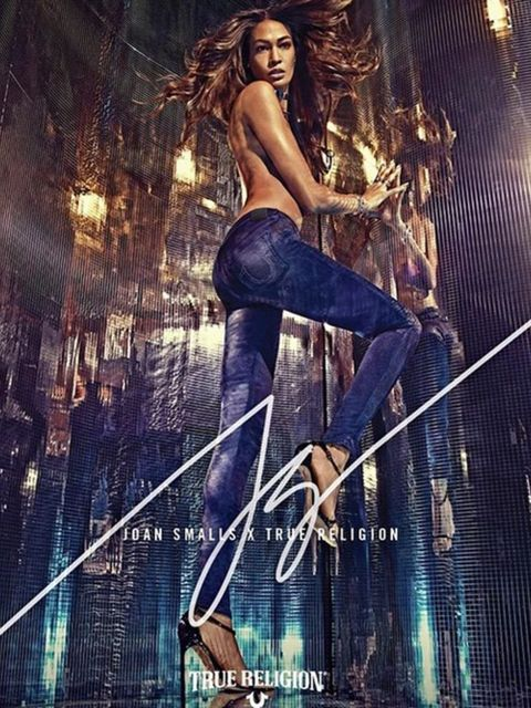 <p>Joan Smalls announced on her instagram that she partnered with True Religion on their 16-piece collection. The collection will be available later this month.</p><p>'So excited to announce my first ever design collaboration with @TrueReligion! @steven