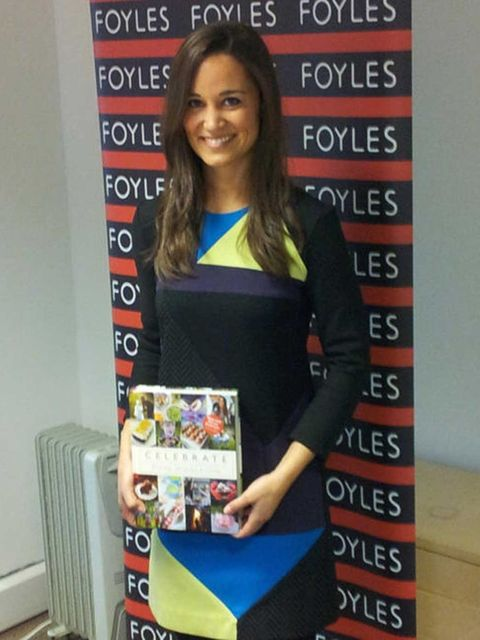 <p>Pippa Middleton in Paper London at Foyles for her book launch </p>