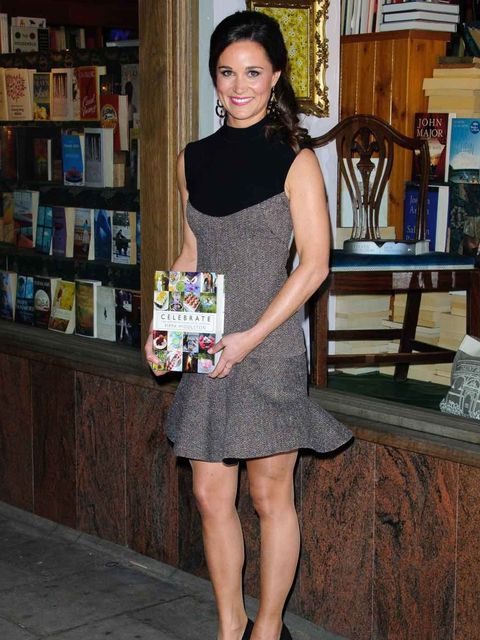 <p>Pippa Middleton in Stella McCartney at her book launch </p>