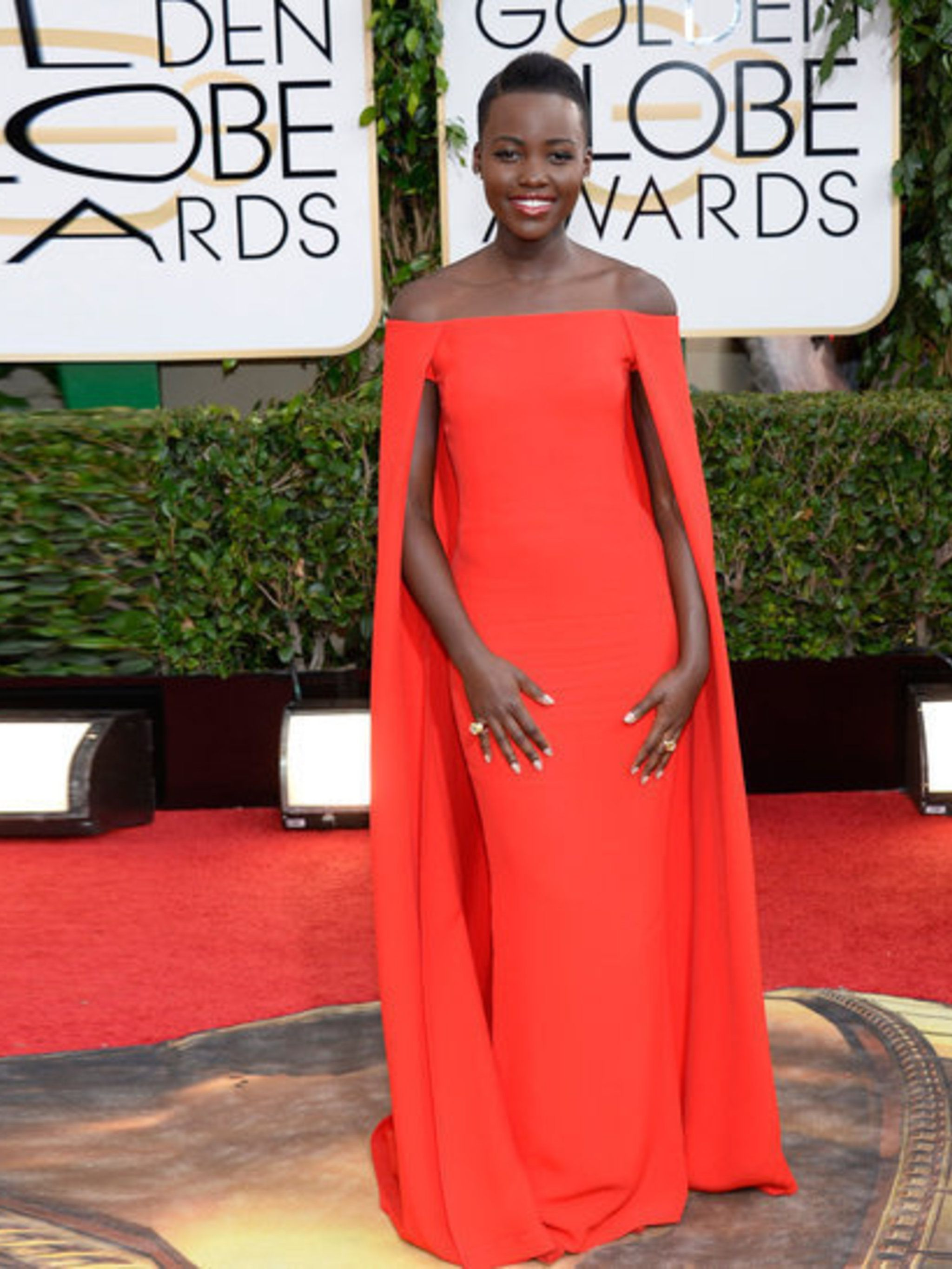 "<p><strong>Red</strong></p><p><a href=""http://www.elleuk.com/star-style/celebrity-style-files/lupita-nyong-o-style-file-actress-miu-miu-chanel-couture"">Lupita Nyong</a> in Ralph Lauren</p>"