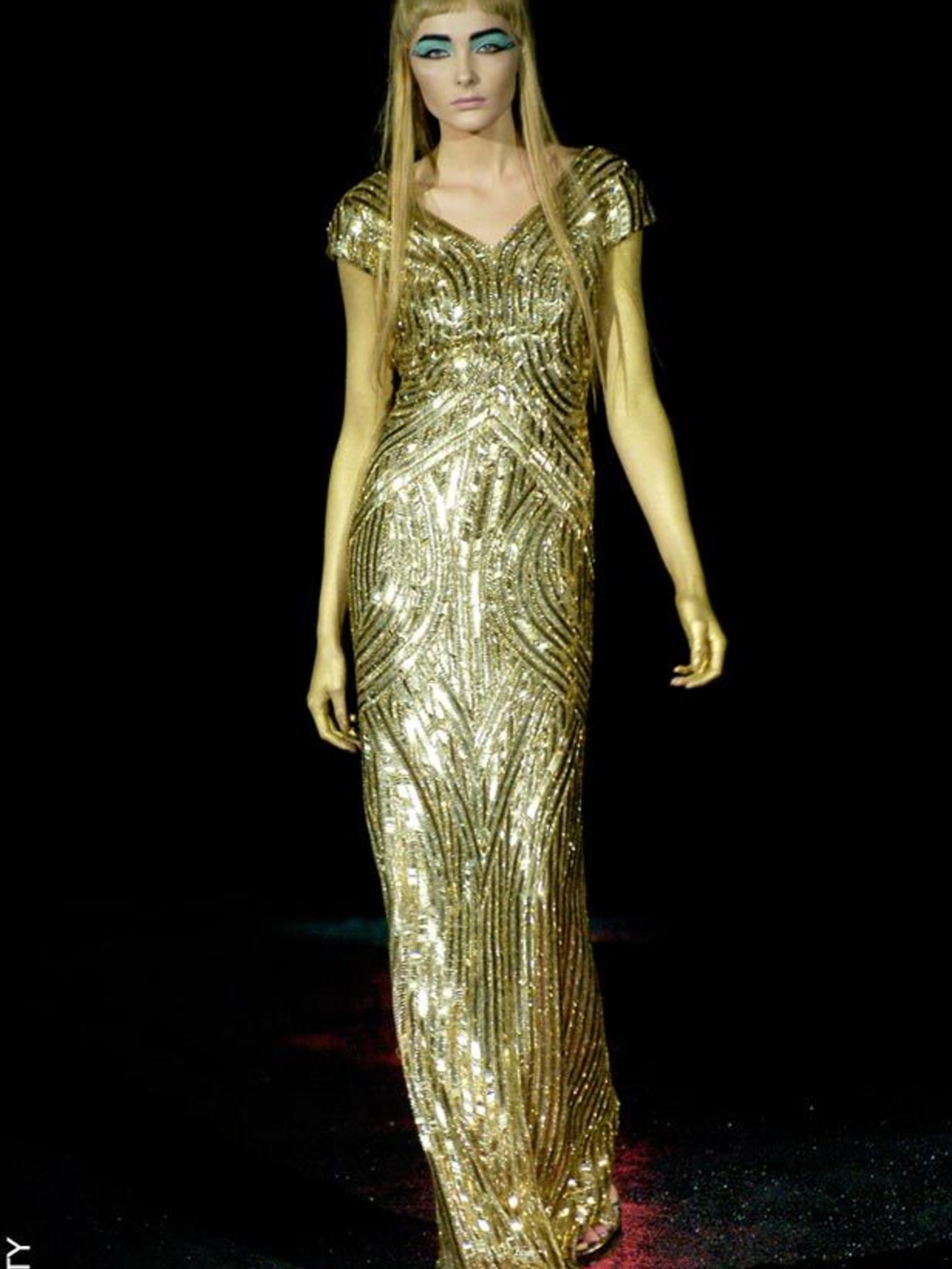 One-off Alexander McQueen dresses to be sold at auction