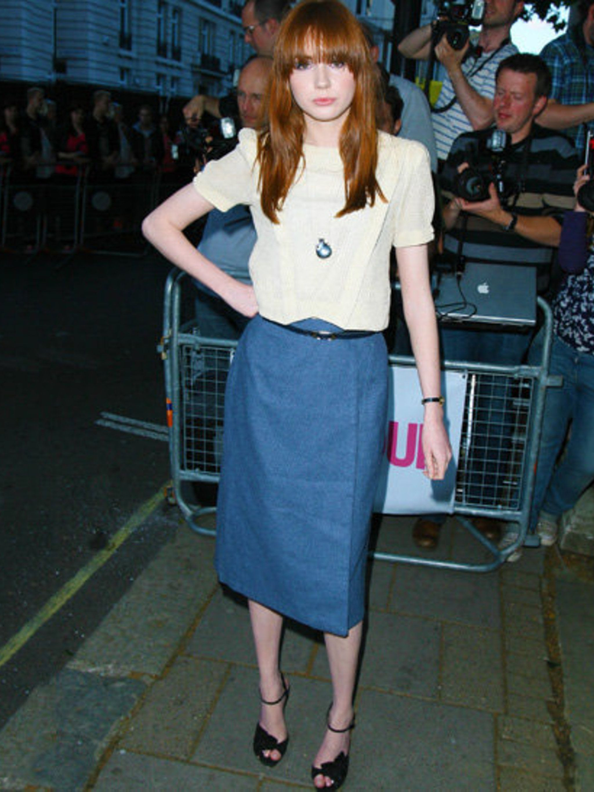 <p>Karen Gillan attends another red carpet event in London.</p>