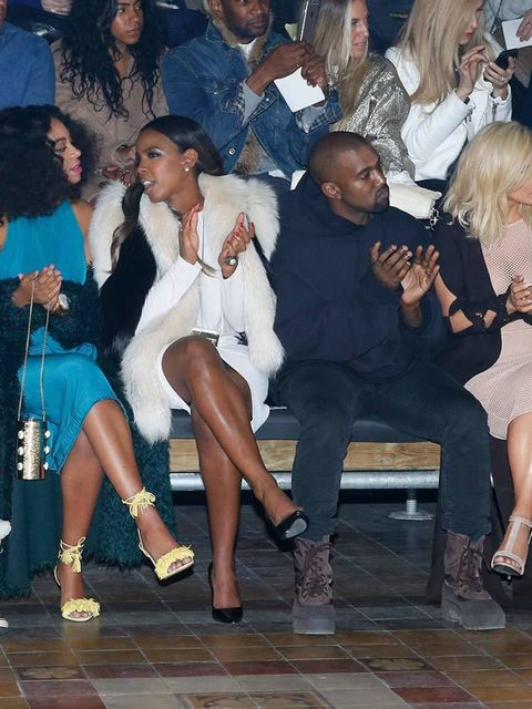 "<p>FROW-ing it at <a href=""http://www.elleuk.com/fashion/news/paris-fashion-week-lanvin-autumn-winter-2015-show-review"">Lanvin</a>.&nbsp;<a href=""http://www.elleuk.com/tags/jared-leto"">Jared Leto</a>&rsquo;s snow boots are clearly not comedy accessory eno"