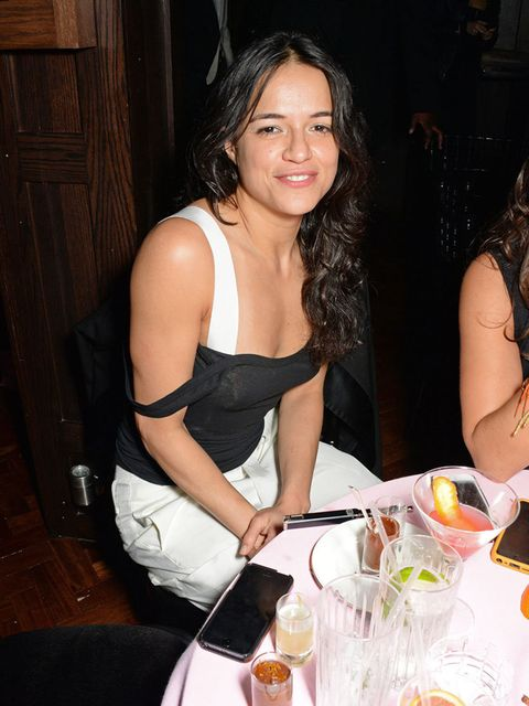 <p>Michelle Rodriguez at the ELLE Style Awards after party.</p>