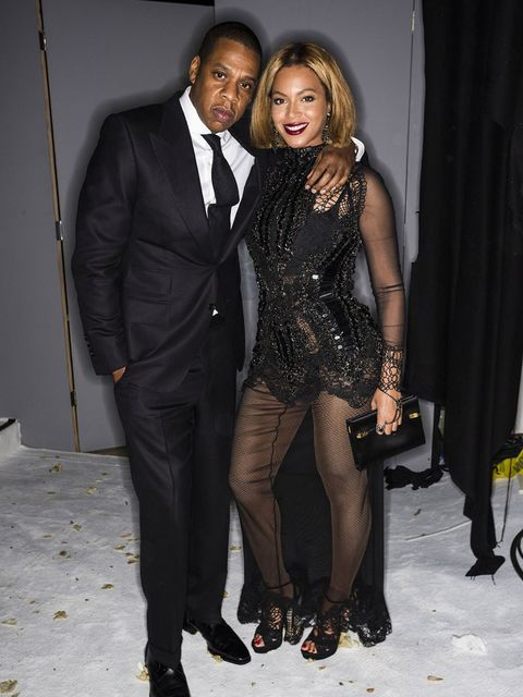 Jay-Z and Beyonce attend the Tom Ford a/w 2015 after party in Los Angeles.