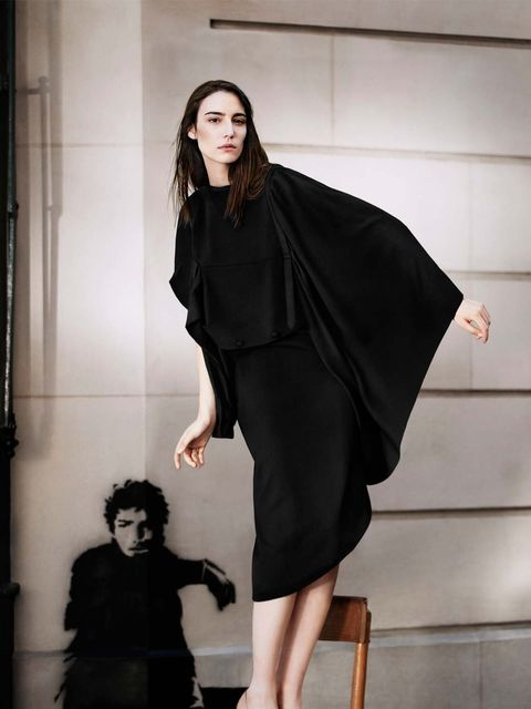 <p>Amelie Lens in Maison Martin Margiela for H&M </p>
