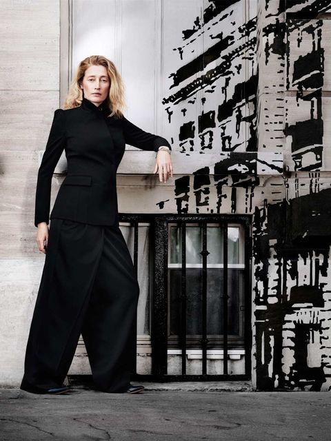 <p>Marie Sophie Wilson in Maison Martin Margiela for H&amp&#x3B;M </p>