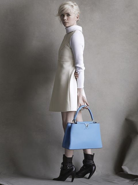 <p>Louis Vuitton a/w 2014 featuring Michelle Williams, photographed by Peter Lindbergh.</p>