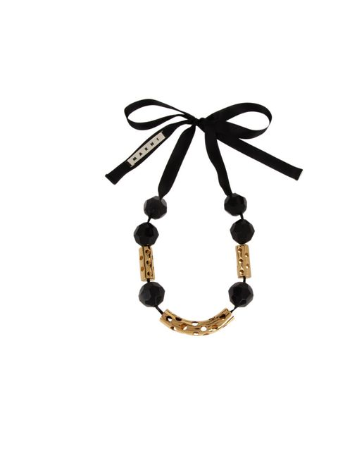 "<p>Add the finishing touch to everything from a LBD to a chunky knit with Marni's statement necklace… Marni Edition tube necklace, £205, at Selfridges</p><p><a href=""http://shopping.elleuk.com/browse?fts=marni+edition+tubes+necklace"">BUY NOW</a></p>"