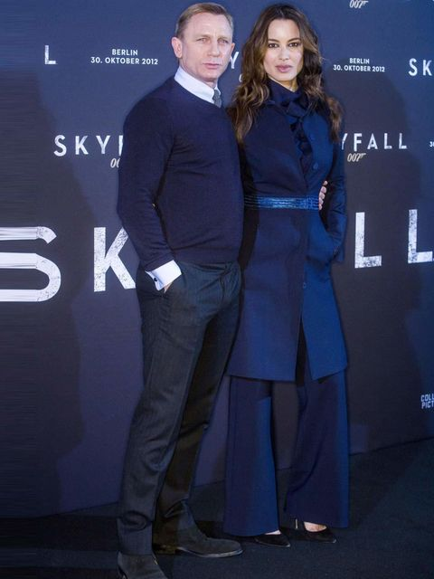 <p>Daniel Craig and Berenice Marlohe attend a Skyfall photocall in Berlin.</p>